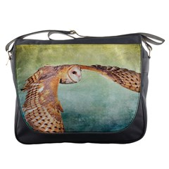 Barn Owl Messenger Bag by heathergreen