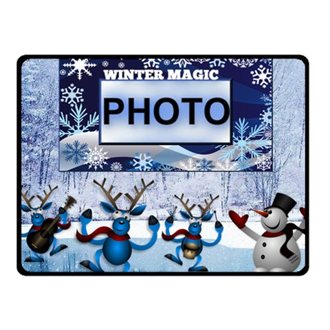 Winter Magic Small Blanket By Joy Johns   Fleece Blanket (small)   Y98awx4nj77h   Www Artscow Com 50 x40 Blanket Front