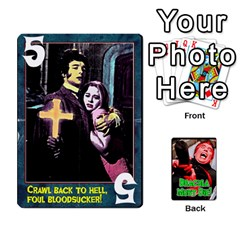 Dracula Must Die! By Mark Chaplin   Playing Cards 54 Designs   Ofnks71zr1cl   Www Artscow Com Front - Diamond3