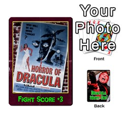 King Dracula Must Die! By Mark Chaplin   Playing Cards 54 Designs   Ofnks71zr1cl   Www Artscow Com Front - ClubK