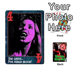 Dracula Must Die!  By Mark Chaplin   Playing Cards 54 Designs   J8b03ha4ysp0   Www Artscow Com Front - Diamond5