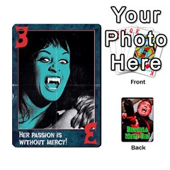Dracula Must Die!  By Mark Chaplin   Playing Cards 54 Designs   J8b03ha4ysp0   Www Artscow Com Front - Diamond7