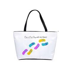 Flip Flop Large Shoulder Bag by MoInkBeMoU
