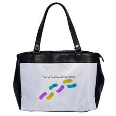 Flip Flop Oversize Office Handbag (one Side) by MoInkBeMoU