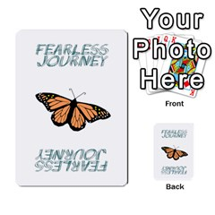 Fearless Journey Strategy Cards V1 1 Fr By Deborah   Multi Purpose Cards (rectangle)   1xwg7w2kkeqo   Www Artscow Com Back 1