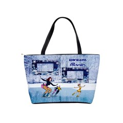 Winter Magic Shoulder Bag By Joy Johns   Classic Shoulder Handbag   Q469ljq4ppwi   Www Artscow Com Back