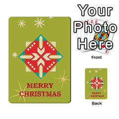Christmas Card By Divad Brown   Multi Purpose Cards (rectangle)   Rr5qfa8uibzj   Www Artscow Com Back 40