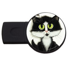 Curiouskitties414 4gb Usb Flash Drive (round) by AmyLynBihrle
