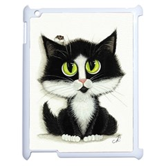 Curiouskitties414 Apple Ipad 2 Case (white) by AmyLynBihrle
