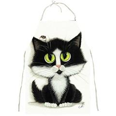 Tuxedo Cat By Bihrle Apron by AmyLynBihrle