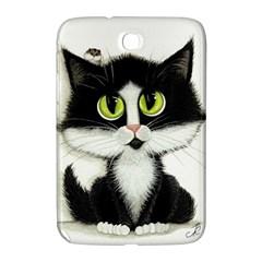 Tuxedo Cat by BiHrLe Samsung Galaxy Note 8.0 N5100 Hardshell Case