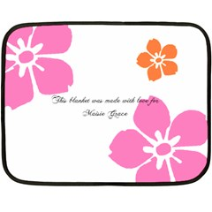 Maisie Blanket By Candy   Double Sided Fleece Blanket (mini)   O4yhz2i5f9kr   Www Artscow Com 35 x27 Blanket Back