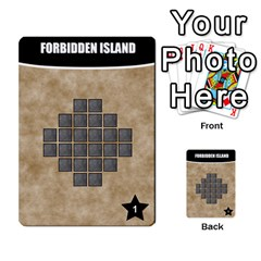 Forbidden Island Expansion Decks (john Hodge) By Rocko   Multi Purpose Cards (rectangle)   68q59847xk40   Www Artscow Com Front 10