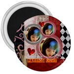 PASSION LOVE - 3  Magnet
