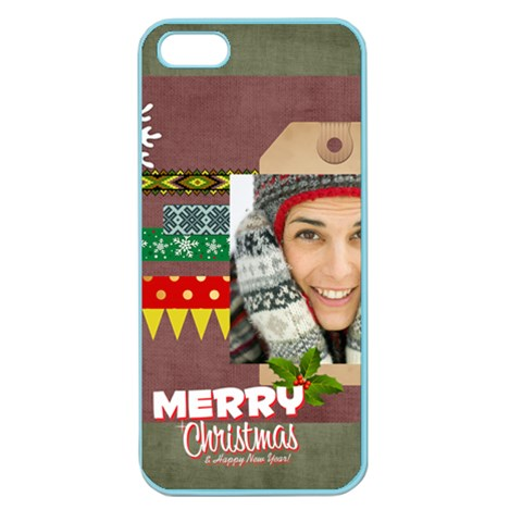 Xmas By Merry Christmas   Apple Seamless Iphone 5 Case (color)   Spidvzpqv20t   Www Artscow Com Front