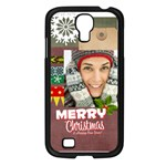 xmas - Samsung Galaxy S4 I9500/ I9505 Case (Black)