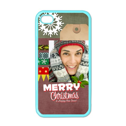 Xmas By Merry Christmas   Apple Iphone 4 Case (color)   Epl3zw4940ej   Www Artscow Com Front