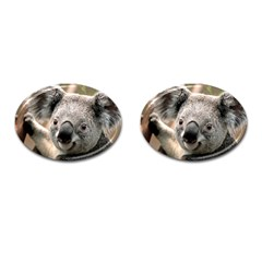 Koala Cufflinks (oval) by vipahi