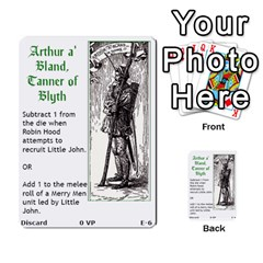 Robin Hood Cards (outlaw And King Decks) By Mark Johnson   Multi Purpose Cards (rectangle)   35mxy14yyzc4   Www Artscow Com Front 6