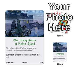 Robin Hood Cards (outlaw And King Decks) By Mark Johnson   Multi Purpose Cards (rectangle)   35mxy14yyzc4   Www Artscow Com Front 7