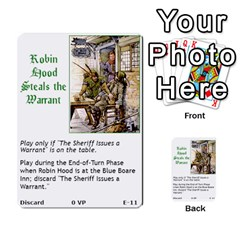 Robin Hood Cards (outlaw And King Decks) By Mark Johnson   Multi Purpose Cards (rectangle)   35mxy14yyzc4   Www Artscow Com Front 11