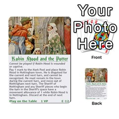 Robin Hood Cards (outlaw And King Decks) By Mark Johnson   Multi Purpose Cards (rectangle)   35mxy14yyzc4   Www Artscow Com Front 12