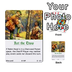 Robin Hood Cards (outlaw And King Decks) By Mark Johnson   Multi Purpose Cards (rectangle)   35mxy14yyzc4   Www Artscow Com Front 13