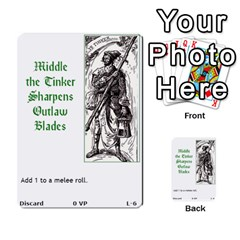 Robin Hood Cards (outlaw And King Decks) By Mark Johnson   Multi Purpose Cards (rectangle)   35mxy14yyzc4   Www Artscow Com Front 23