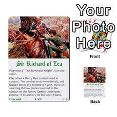 Robin Hood Cards (outlaw And King Decks) By Mark Johnson   Multi Purpose Cards (rectangle)   35mxy14yyzc4   Www Artscow Com Front 26