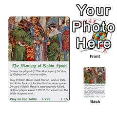 Robin Hood Cards (outlaw And King Decks) By Mark Johnson   Multi Purpose Cards (rectangle)   35mxy14yyzc4   Www Artscow Com Front 32