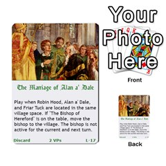 Robin Hood Cards (outlaw And King Decks) By Mark Johnson   Multi Purpose Cards (rectangle)   35mxy14yyzc4   Www Artscow Com Front 34