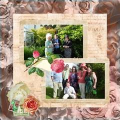 La Vie En Rose 12 X 12 Scrapbook Pages By Catvinnat   Scrapbook Page 12  X 12    Lqr0iyzqnj1i   Www Artscow Com 12 x12 Scrapbook Page - 12