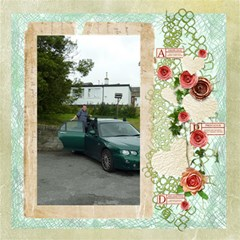 La Vie En Rose 12 X 12 Scrapbook Pages By Catvinnat   Scrapbook Page 12  X 12    Lqr0iyzqnj1i   Www Artscow Com 12 x12 Scrapbook Page - 20