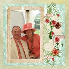 La Vie En Rose 12 X 12 Scrapbook Pages By Catvinnat   Scrapbook Page 12  X 12    Lqr0iyzqnj1i   Www Artscow Com 12 x12 Scrapbook Page - 3