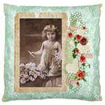 La Vie lll 20 inch double sided cushion - Large Cushion Case (Two Sides)