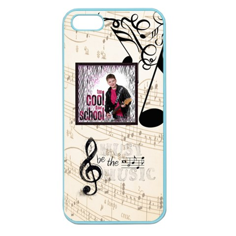 Music Iphone 5 Case By Catvinnat   Apple Seamless Iphone 5 Case (color)   Tyupvys8b383   Www Artscow Com Front