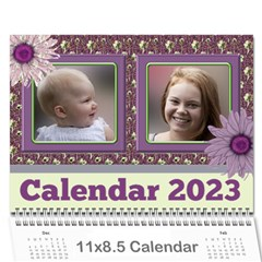 Country Floral 11x8 5 Calendar (any Year) By Deborah   Wall Calendar 11  X 8 5  (12 Months)   9r755lc4egve   Www Artscow Com Cover