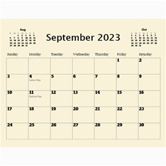 Country Floral 11x8 5 Calendar (any Year) By Deborah   Wall Calendar 11  X 8 5  (12 Months)   9r755lc4egve   Www Artscow Com Sep 2017