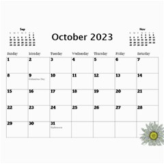 Country Floral 11x8 5 Calendar (any Year) By Deborah   Wall Calendar 11  X 8 5  (12 Months)   9r755lc4egve   Www Artscow Com Oct 2017