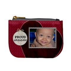 Proud Grandma Mini Coin Purse By Lil    Mini Coin Purse   Caikjqktjsjs   Www Artscow Com Front