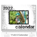 2015 Faded Glory Monochrome Calendar - Wall Calendar 11  x 8.5  (12-Months)