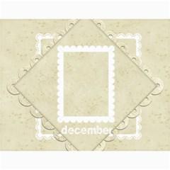 2015 Damask Wedding Calendar  By Catvinnat   Wall Calendar 11  X 8 5  (12 Months)   Zpda3t63l3vt   Www Artscow Com Month