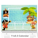2015 Pirate Pete Calendar - Wall Calendar 11  x 8.5  (12-Months)