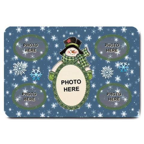 Snow Days Large Door Mat By Joy Johns   Large Doormat   Ep2br7slsagn   Www Artscow Com 30 x20 Door Mat - 1