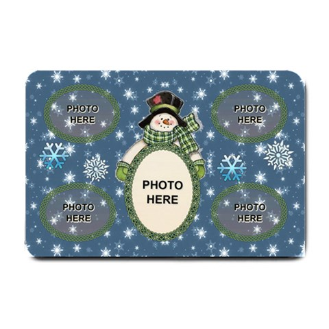Snow Days Small Doormat By Joy Johns   Small Doormat   Kzcd4abj9ik9   Www Artscow Com 24 x16 Door Mat - 1