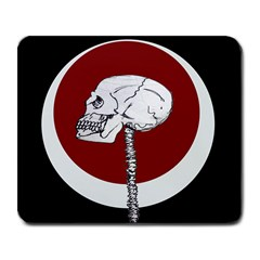 Skeletal Warning Large Mouse Pad (rectangle) by Contest1625392
