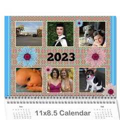 My Picture Calendar (any Year) By Deborah   Wall Calendar 11  X 8 5  (12 Months)   Ovy7scx1acd9   Www Artscow Com Cover