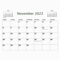 My Picture Calendar (any Year) By Deborah   Wall Calendar 11  X 8 5  (12 Months)   Ovy7scx1acd9   Www Artscow Com Nov 2017