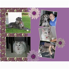 My Picture Calendar (any Year) By Deborah   Wall Calendar 11  X 8 5  (12 Months)   Ovy7scx1acd9   Www Artscow Com Month