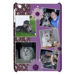 Purple Apple iPad Mini Hardshell Case